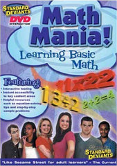 Standard Deviants - Math Mania! - Learning The Basic Math