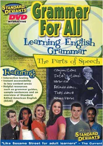 Standard Deviants - Grammar for All (Learning English Grammar The Parts of Speech) DVD Movie