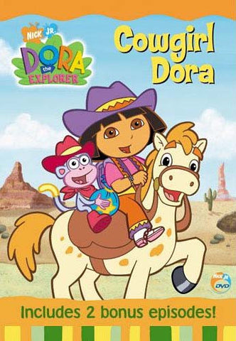 Dora The Explorer Cowgirl Dora DVD Movie