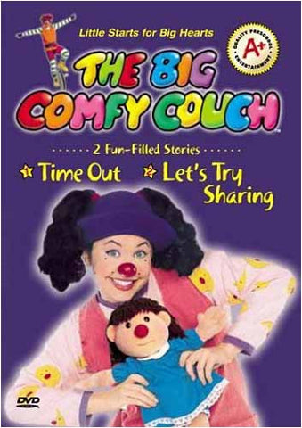 Big Comfy Couch - Time Out / Let s Try Sharing DVD Movie