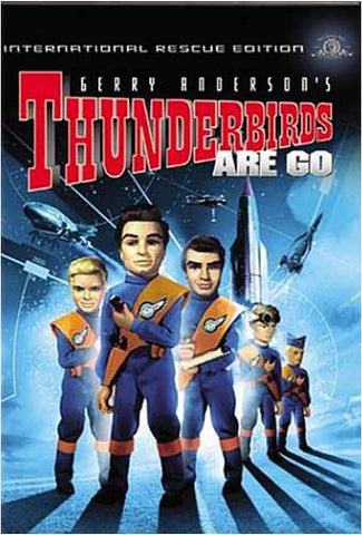 Thunderbirds Are Go (International Rescue Edition) DVD Movie