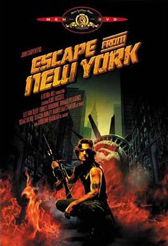 Escape from New York DVD Movie