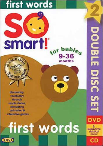 So Smart! - First Words DVD Movie