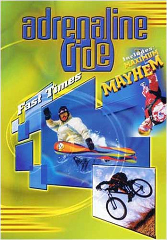 Adrenaline Ride - Fast Times DVD Movie