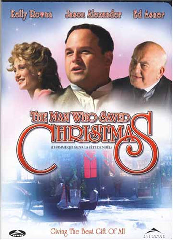 The Man Who Saved Christmas DVD Movie