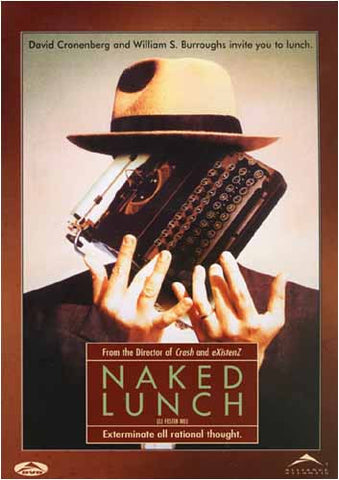 Naked Lunch DVD Movie