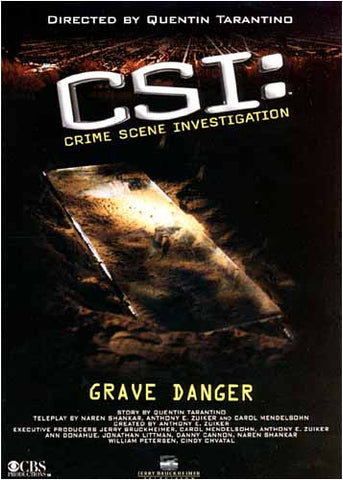 CSI - Grave Danger DVD Movie