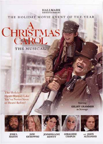 A Christmas Carol - The Musical DVD Movie