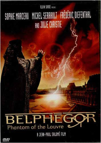Belphegor Phantom of the Louvre DVD Movie