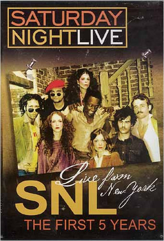 Saturday Night Live - Live From New York - The First 5 Years DVD Movie