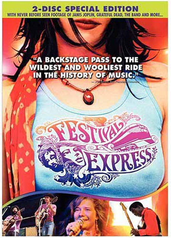 Festival Express (Two Disc Special Edition) DVD Movie