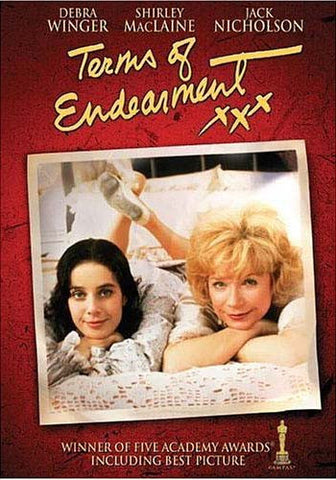 Terms of Endearment (Academy Awards Cover) DVD Movie