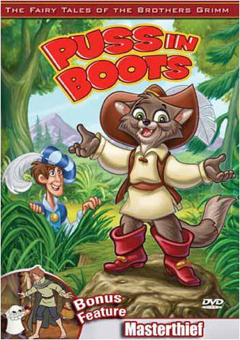 Puss in Boots / Masterthief - The Brothers Grimm DVD Movie