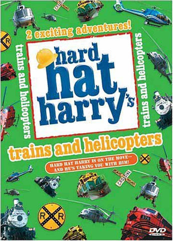 Hard Hat Harry's: Trains and Helicopters DVD Movie