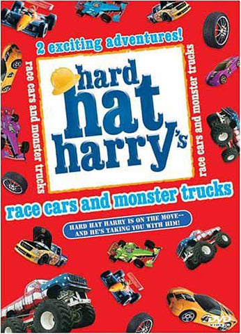 Hard Hat Harry's: Race Cars and Monster Trucks DVD Movie