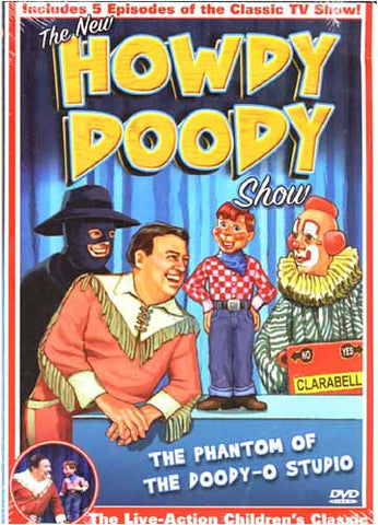 The New Howdy Doody Show: Phantom of the Doody-O Studio DVD Movie