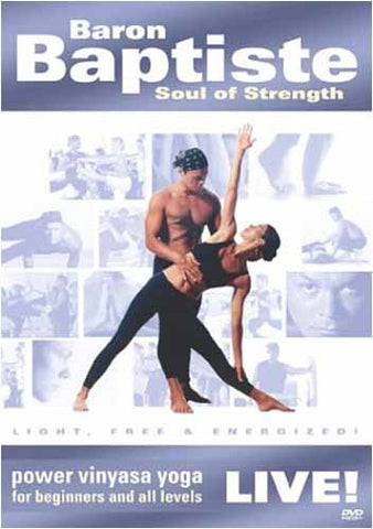 Baron Baptiste Live! - Soul of Strength DVD Movie