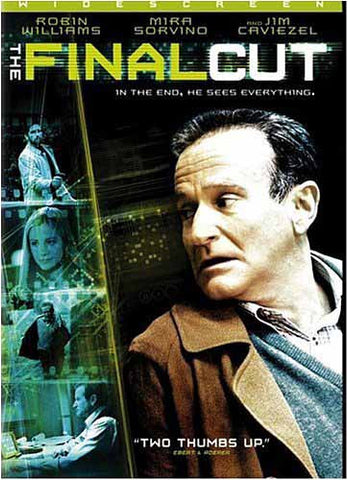 The Final Cut (Robin Williams) DVD Movie