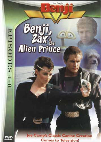 Benji, Zax and the Alien Prince (Episode 4 - 6) DVD Movie
