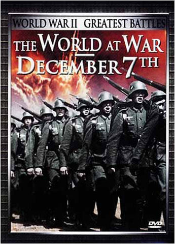 The World at War - December 7th DVD Movie