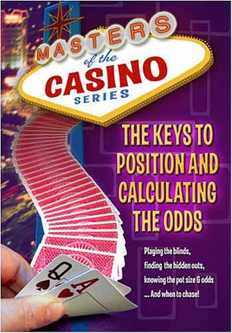 Masters of the Casino Series - The Keys To Position And Calculating Odds in Poker DVD Movie