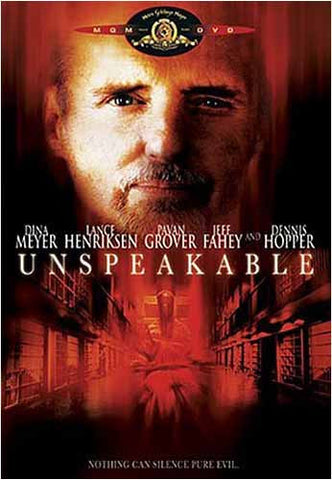 Unspeakable DVD Movie