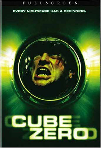 Cube Zero (Widescreen) DVD Movie