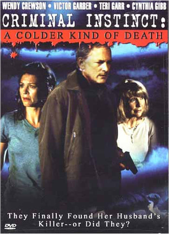 Criminal Instinct: A Colder Kind of Death DVD Movie