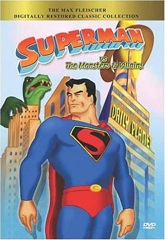 Superman vs. the Monsters and Villains (Collectible Classics) DVD Movie