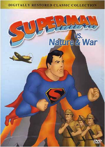 Superman Vs Nature and War DVD Movie