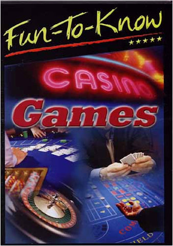 Fun to Know - Casino Games DVD Movie