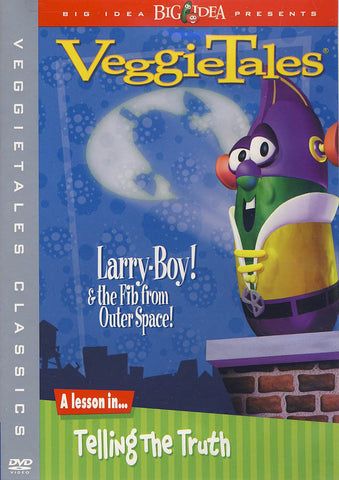 VeggieTales Classics - Larry-Boy and the Fib from Outer Space DVD Movie