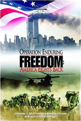 Operation Enduring Freedom - America Fights Back DVD Movie