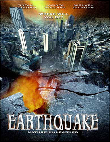 Nature Unleashed - Earthquake(bilingual) DVD Movie
