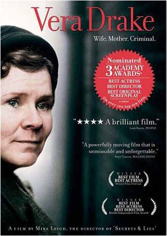 Vera Drake(Bilingual) DVD Movie