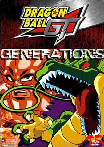 Dragon Ball GT - Generations (Vol. 15) DVD Movie