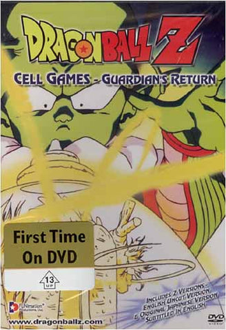 Dragon Ball Z - Cell Games - Guardian s Return (Uncut Version) DVD Movie