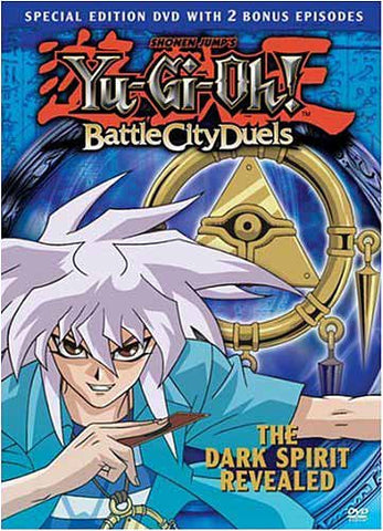 Yu-Gi-Oh! - Battle City Duelists - The Dark Spirit Revealed (Vol. 8) DVD Movie