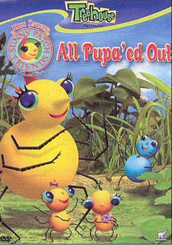 Miss Spider's Sunny Patch Friends - All Pupa'Ed Out DVD Movie