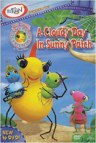 Miss Spider's Sunny Patch Friends - A Cloudy Day In Sunny Patch DVD Movie