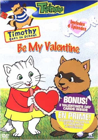 Timothy Goes to School - Be My Valentine DVD Movie