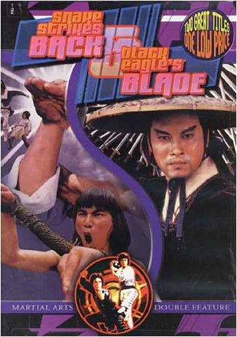 Snake Strikes Back / Black Eagle's Blade DVD Movie