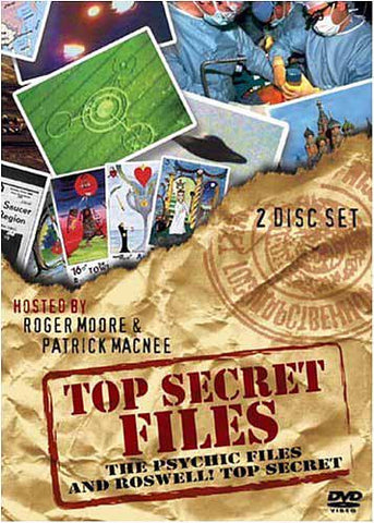 Top Secret Files - The Psychic Files and Roswell! Top Secret DVD Movie