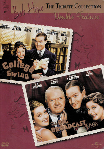 Bob Hope Tribute Collection - The Big Broadcast of 1938 / College Swing (Double Feature) DVD Movie