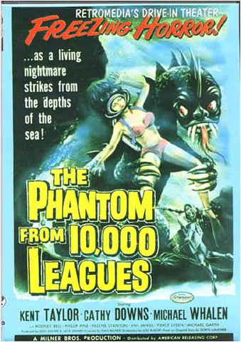 The Phantom From 10,000 Leagues DVD Movie