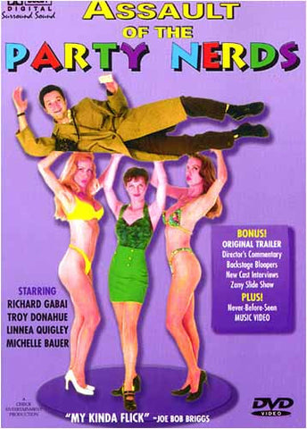 Assault of the Party Nerds DVD Movie