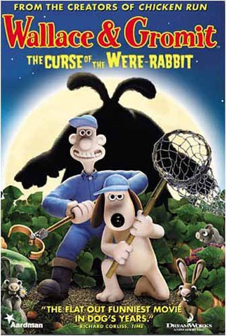 Wallace & Gromit - The Curse of the Were-Rabbit DVD Movie