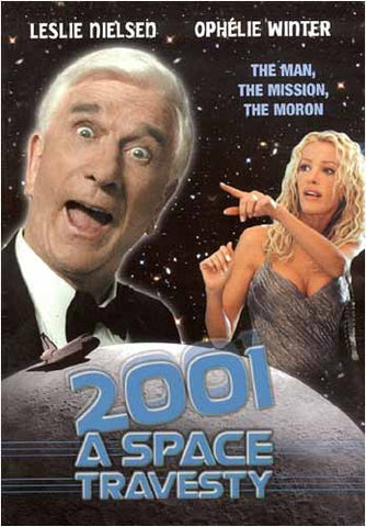 2001 A Space Travesty DVD Movie