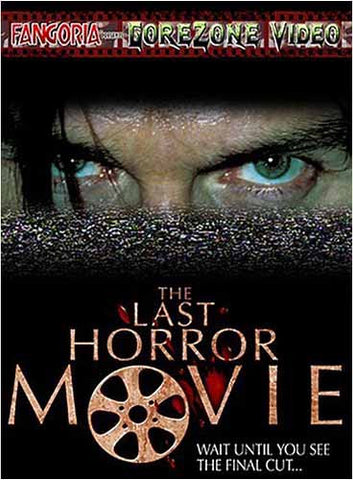 The Last Horror Movie DVD Movie
