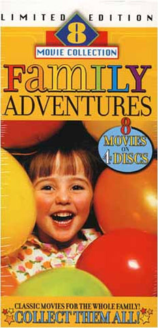 Family Adventures - Limited Edition (Boxset) DVD Movie